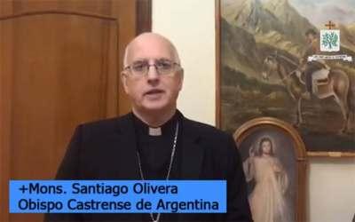 Mons. Olivera | Damos gracias por este don en nuestra Iglesia Castrense, rezamos por ellas y por todas las Vírgenes Consagradas, dando gracias a Dios