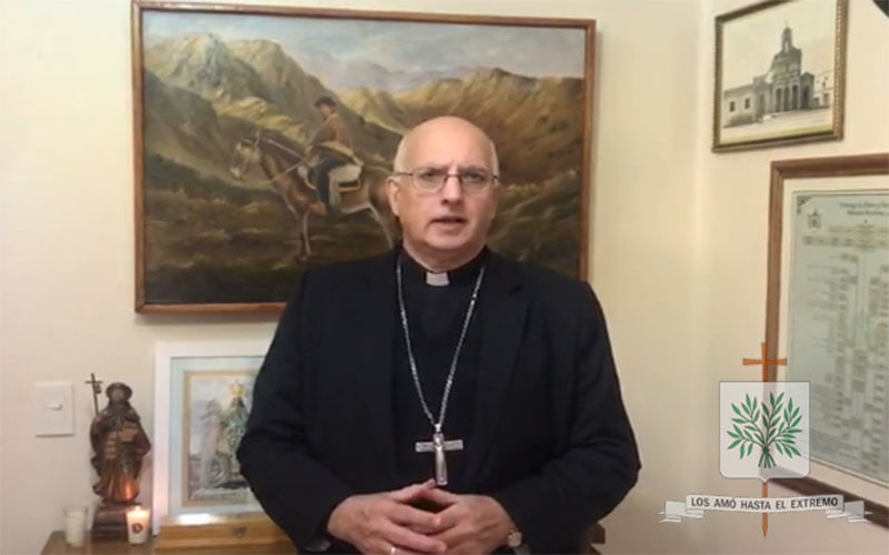Mons. Olivera | Nos llena de orgullo y alegría saber en entre nuestros fieles están ustedes, que día a día hacen Patria y entregan su vida por cada uno de nosotros