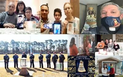 Santa Fe | Cadetes y ARE junto a sus familias y directivos del LAM rezaron por el eterno descanso del Capitán Britos Venturini y por el bien espiritual de la FAA