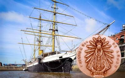 Hace 117 años Nrta. Sra. de Luján navegó junto al Vicealmirante Julián Irízar rumbo al rescate de la Expedición Sueca al Polo Sur y náufragos del buque Ballenero Noruego