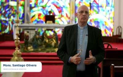 Mons. Olivera   Con Justicia y con verdad, se puede alcanzar, se puede consolidar, se puede conservar la paz