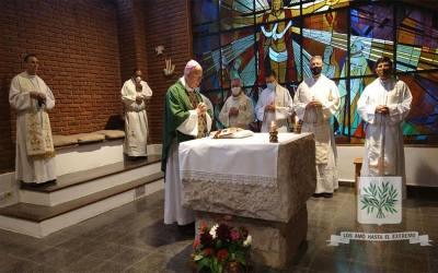 Mons. Olivera inició el tiempo de convivencia con Seminaristas Castrenses