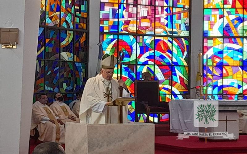 Mons. Olivera   Necesitamos que el Evangelio que sana y libera se encarne más en nuestra Nación