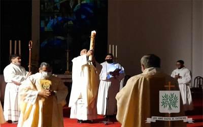 Mons. Olivera | Celebrar la Pascua, es volver a creer que Dios irrumpe y no deja de irrumpir en nuestras historias de vida