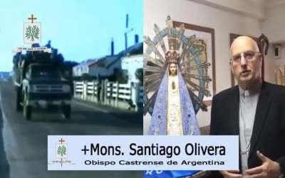 Mons. Olivera | Que tanto sufrimiento y tanto dolor asociado a la Cruz de Jesús, de fruto de reconciliación, paz y de redención para todos