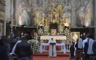 Papa Francisco | Qué la Virgen María, Madre de la Misericordia, nos conceda a todos esta gracia de la misericordia