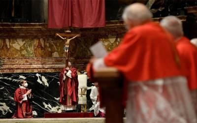Viernes Santo | Su Santidad Francisco presidió la celebración de la Pasión del Señor