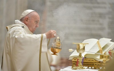 Papa Francisco | El Señor siempre va delante de ti, con él, la vida siempre comienza de nuevo