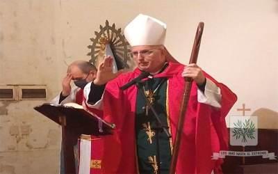 Mons. Olivera   El Espíritu Santo es el «dulce huésped del alma»