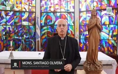Mons. Olivera | En este día queremos agradecer la presencia y el servicio de ustedes por nuestra Patria