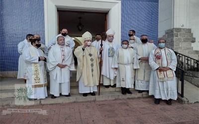 Buenos Aires | El Capellán, Padre Fochesato, nuevo Administrador Parroquia Ntra. Sra. de Loreto prestó su Profesión de Fe, Juramento de Fidelidad