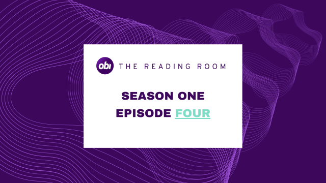 the reading room - S1E4 title card