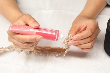 手芸用ブレードの切り口の処理