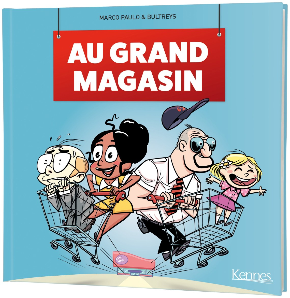 Couverture de au grand magasin