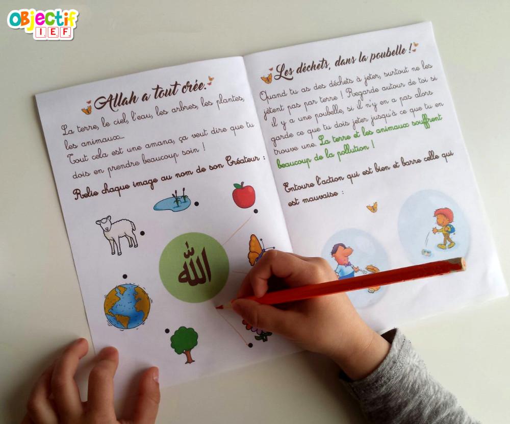 La nature en Islam livret d'activité gratuit Objectif IEF