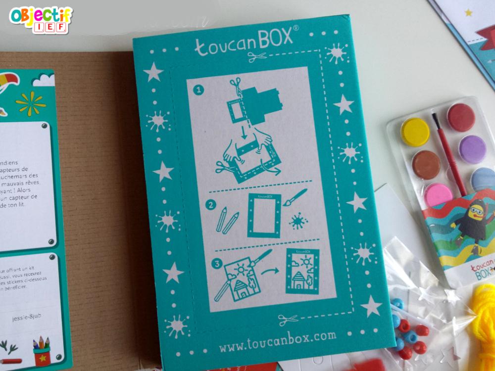 Toucanbox box créative à petit prix Objectif IEF