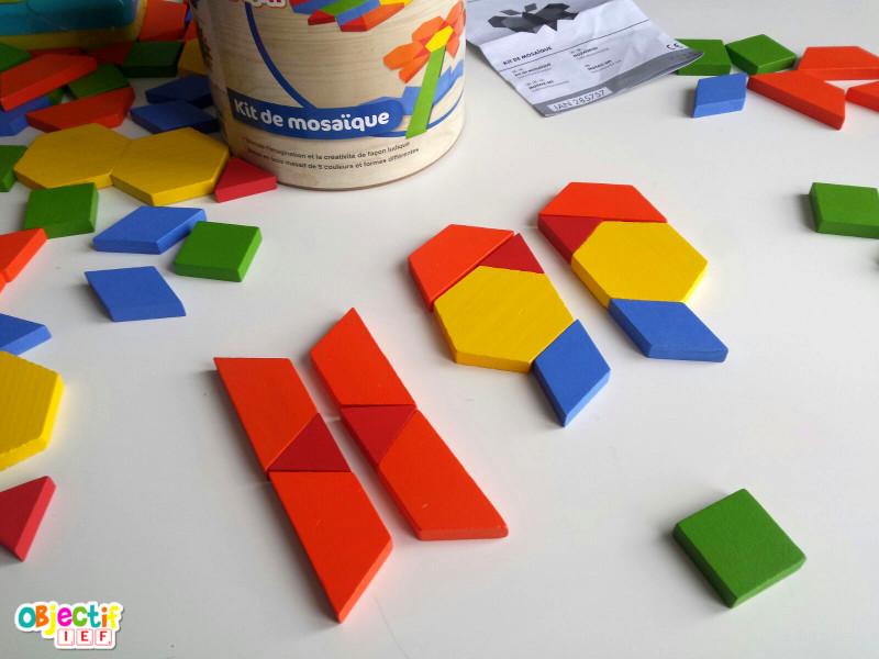 mosaïques lidl fiches modèles gratuites attrimaths Objectif IEF jouets