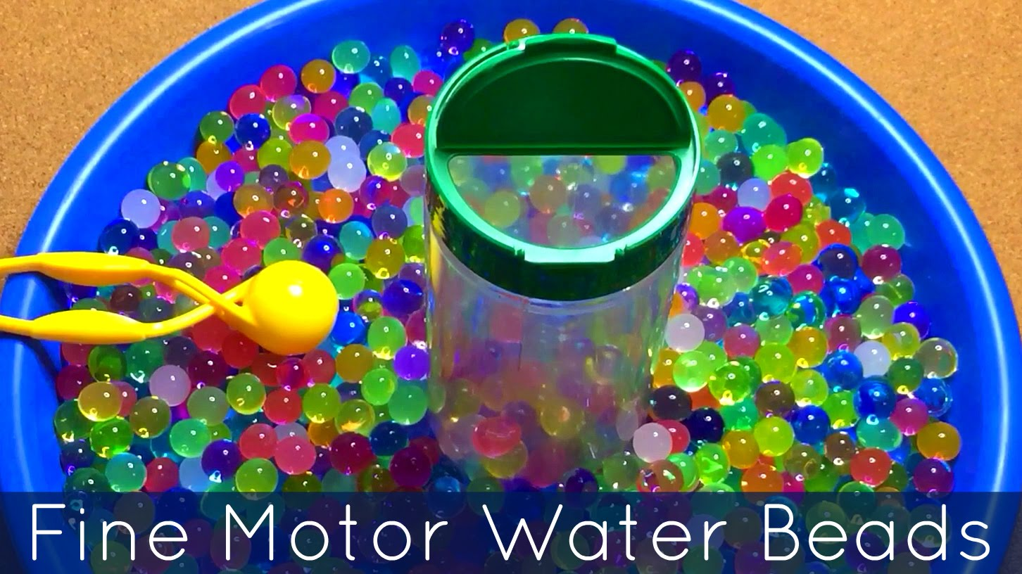 transvasement avec les perles d'eau