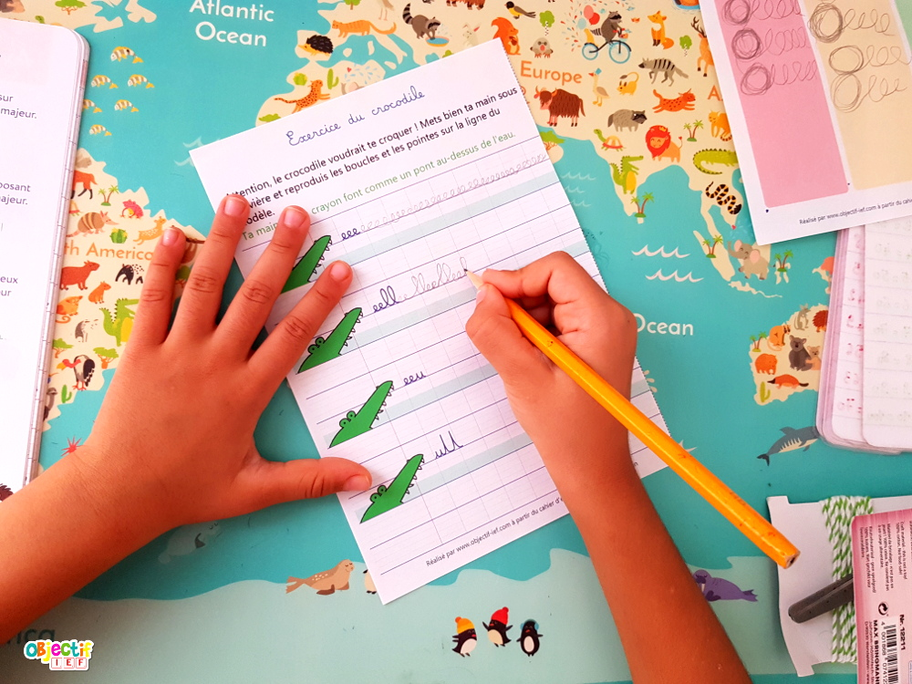 fiches d'exercices écriture cahier laurence pierson écriture CP CE