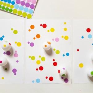 A la manière de Kusama objectif ief art visuel