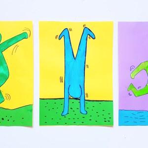 A la manière de Keith Haring objectif IEF art visuel