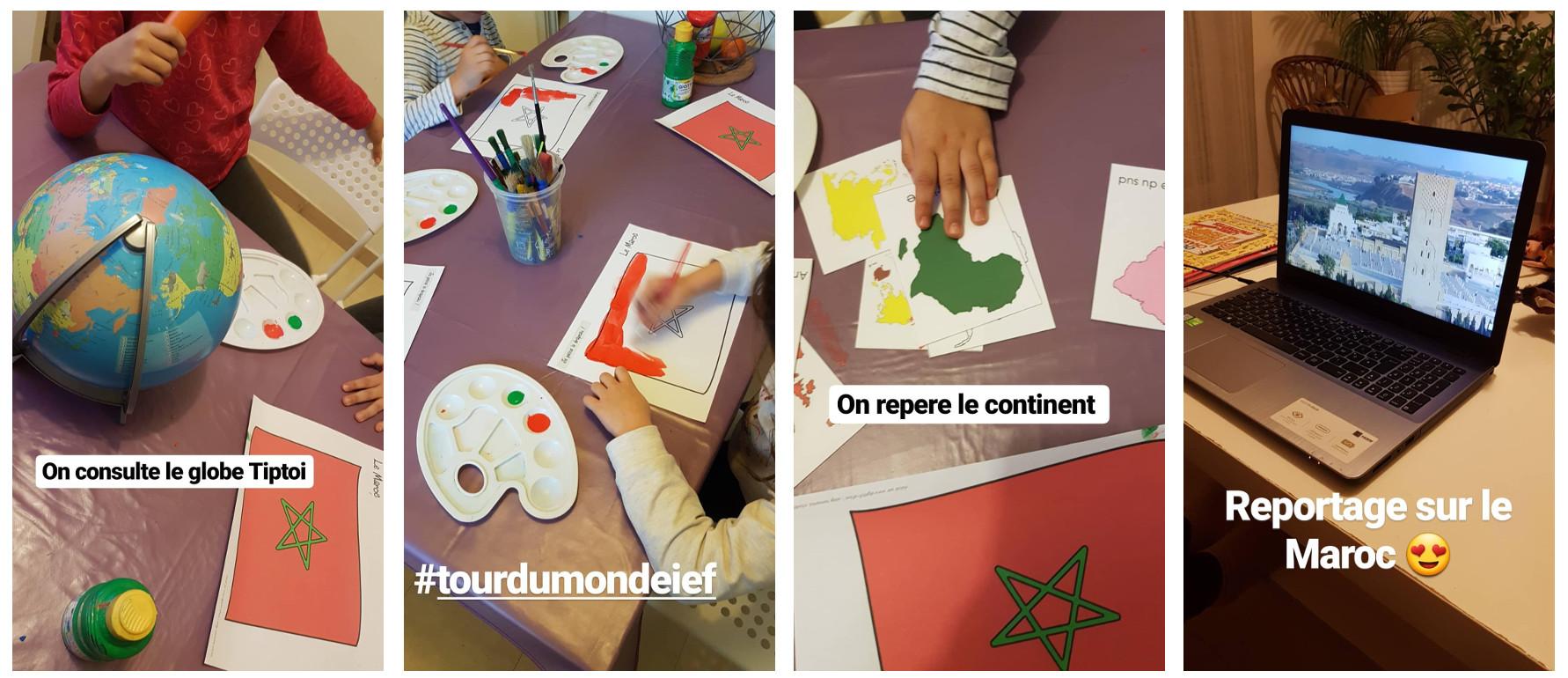 Le maroc tour du monde ief supports gratuit objectif ief