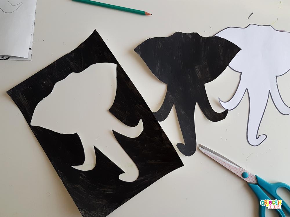 portrait d'éléphant art visuel tanzanie tour du monde IEF objectif ief afrique africa