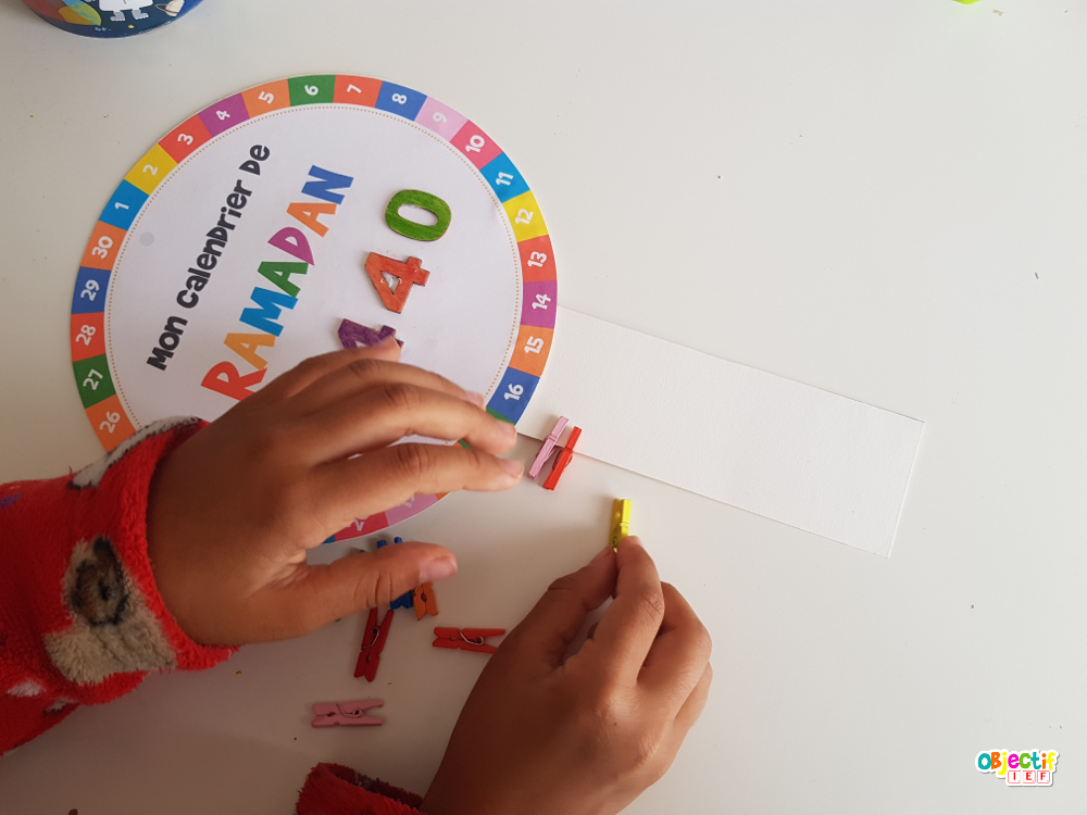 Ramadan calendrier enfant activité muslim ief islam objectif ief