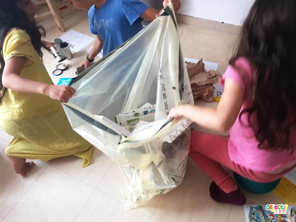 tri des déchets club citeo activité écologie développement durable ief instruction en famille objectif ief
