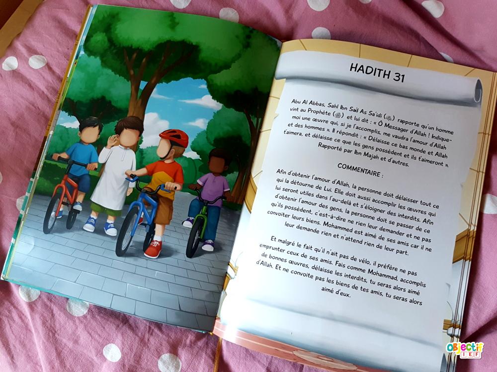 40 hadiths an-nawawi muslim kids objectif ief ivre islam enfant