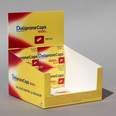 Objectif-PLV-BL Doliprane CAPS 1000