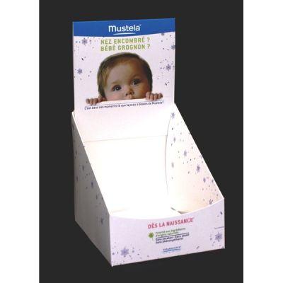 Objectif-PLV-Boite livreuse mustela bébé