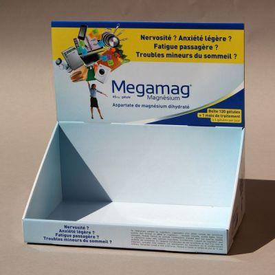 Objectif-PLV-Présentoir MEGAMAG