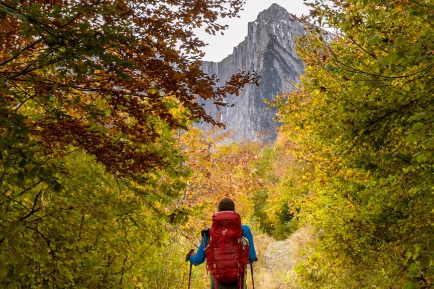 alpinisme à l'automne