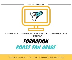 formation boost ton arabe