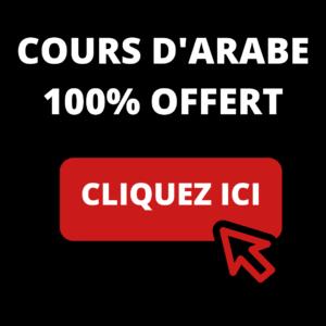 cours d'arabe offert