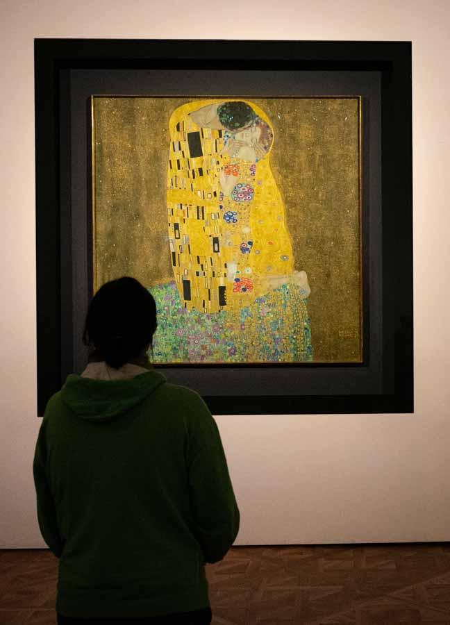 le baiser Klimt Belvedere