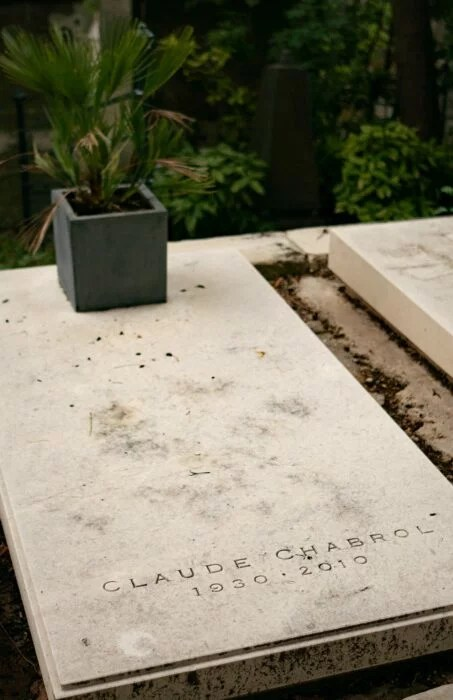 Tombe Claude Chabrol Pere Lachaise