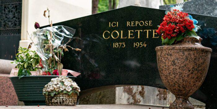 Tombe Colette Pere Lachaise