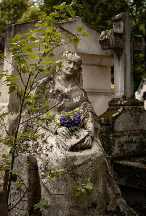 Tombe Hermine Musset Pere Lachaise