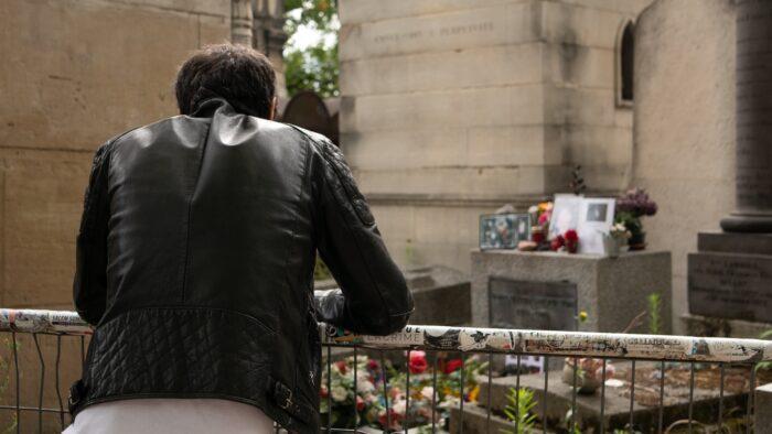 Tombe Jim Morrison Pere Lachaise