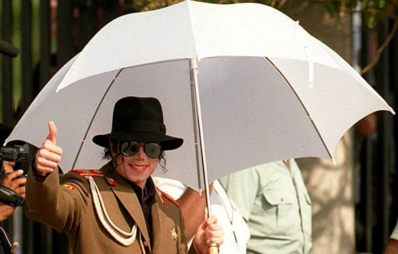 Michael Jackson Saragosse 1996