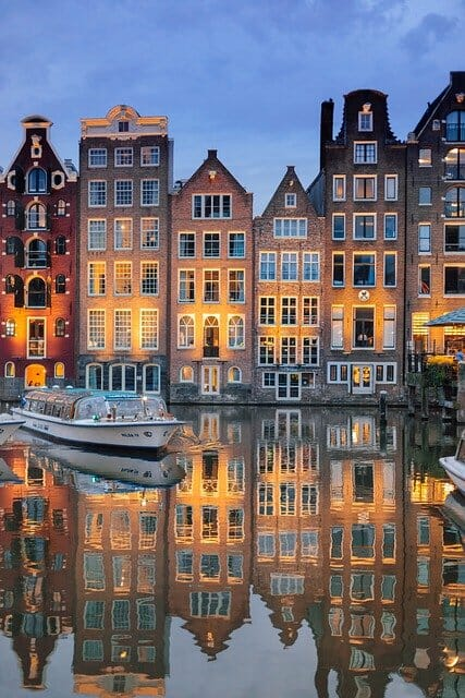 Amsterdam romantique