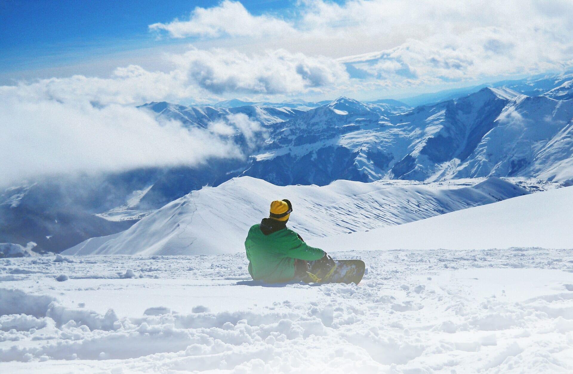 bucket list hiver - snowboard