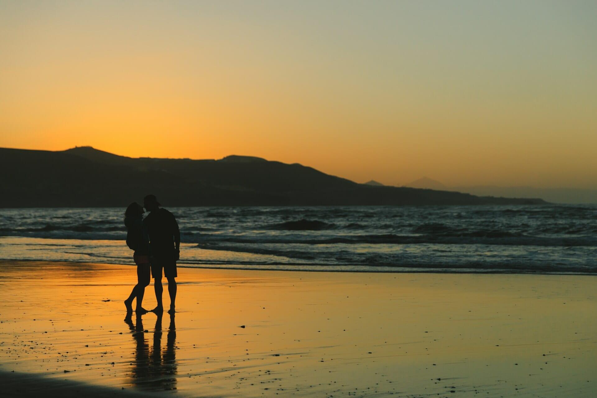 Bucket List Couple - Balade sur la plage