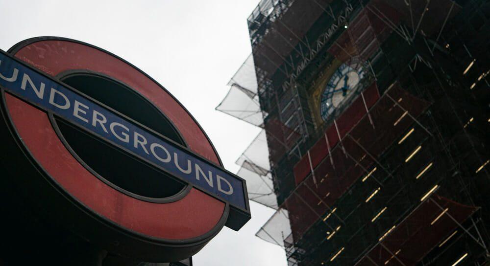 Big Ben en travaux Londres