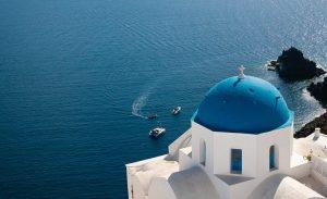 Dome bleu Santorin