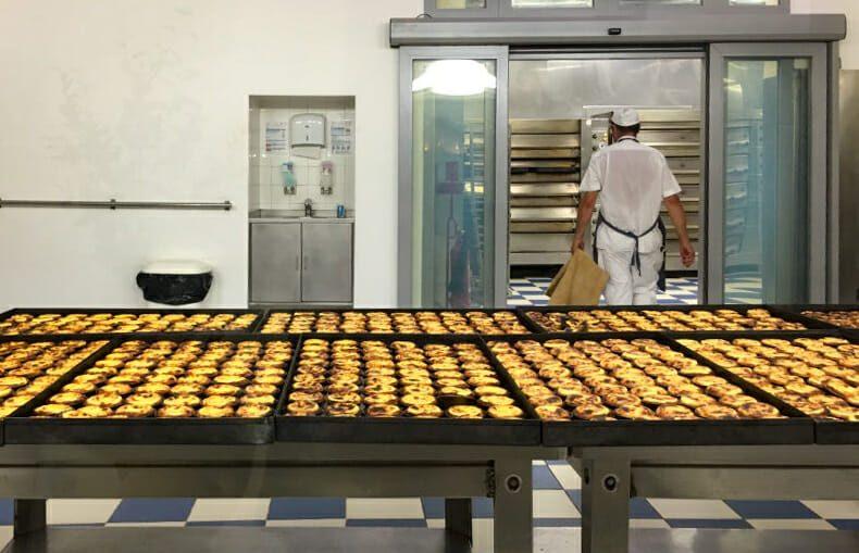 Fabrication des pasteis
