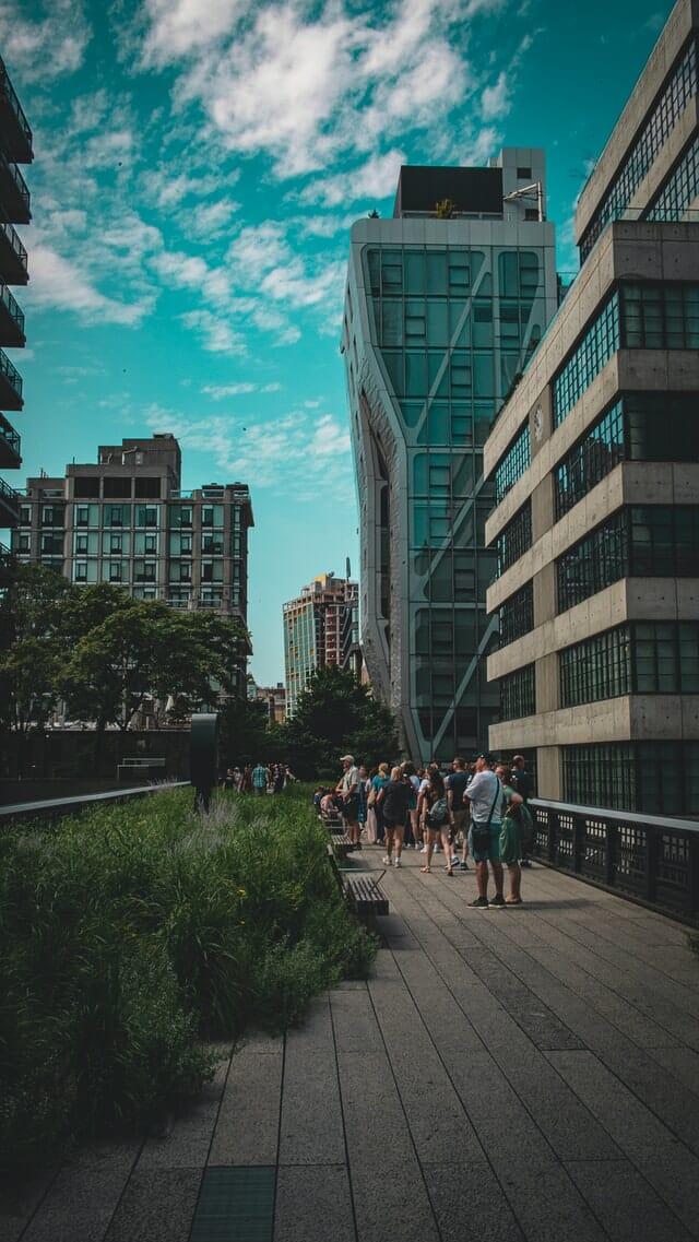 High Line se promener au nord