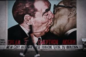 Mur de Berlin baiser